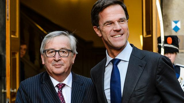 Juncker en Rutte willen dat Europese markt versterkt wordt