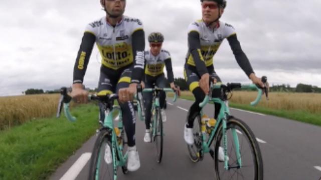 Team Lotto-Jumbo treft laatste voorbereidingen voor de Tour