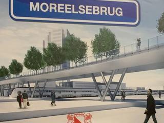 Brug over treinsporen krijgt officiële naam