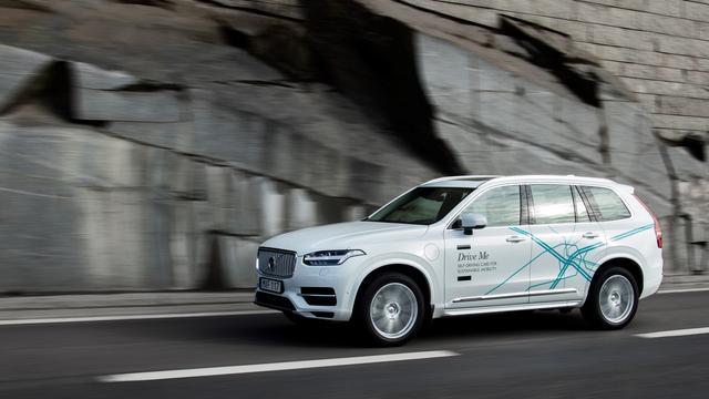 Volvo gaat zelfrijdende auto's in China testen