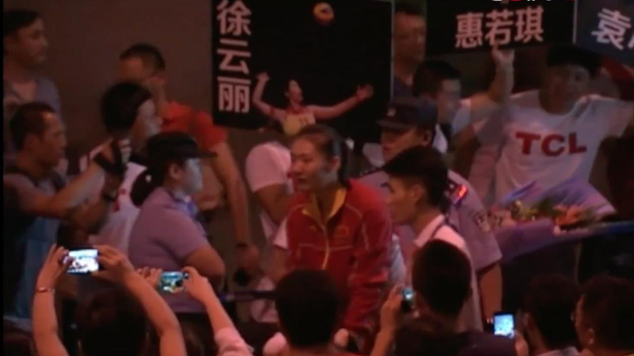 Warm onthaal Chinese olympiërs ondanks tegenvallende prestaties