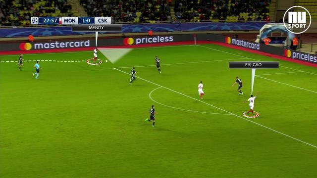 'Mendy en Falcao zorgen voor grootste gevaar AS Monaco'