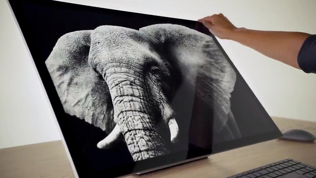 Microsoft Surface Studio heeft zeer kantelbaar scherm