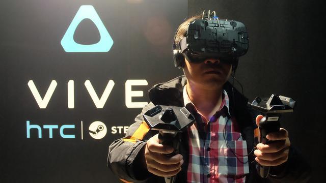 'VR-bril HTC Vive ongeveer 75.000 keer verkocht'