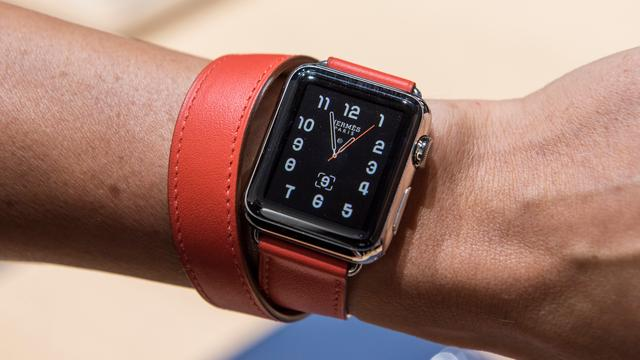 'Apple blijft tot 2019 smartwatchmarkt domineren'