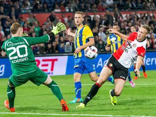 Feyenoord en Vitesse bereiken tweede ronde