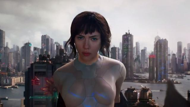 Scarlett Johansson als Aziatische agente te zien in trailer Ghost in the Shell