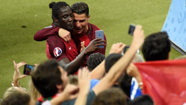 Gewisselde Ronaldo vertelde Eder dat hij moest scoren