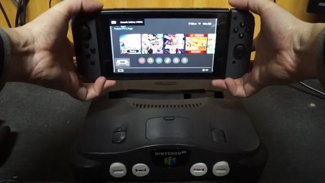 Gamer maakt van oude Nintendo 64 een Switch-dock