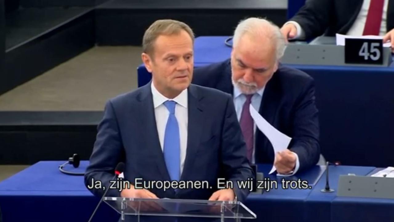 Poolse EU-president spreekt in Nederlands steun uit in Turkijeconflict