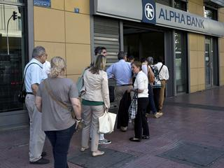 Eurobank en Alpha Bank hebben reserves aangevuld via private investeerders