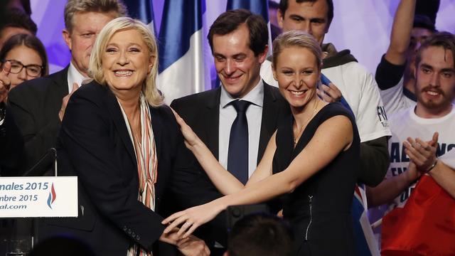 Nederlaag maar toch recordwinst voor Franse Front National