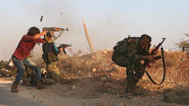 Rebellen starten aanval op Dabiq in Syrië