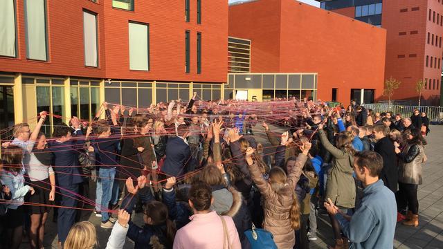 Calvijn College aan Stationspark officieel geopend