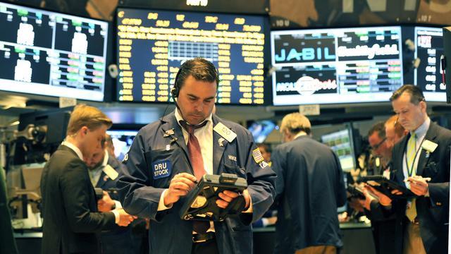 Vlak beursslot op Wall Street