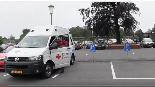 Rode Kruis rijdt voortaan met zwaailicht en sirenes bij noodsituaties