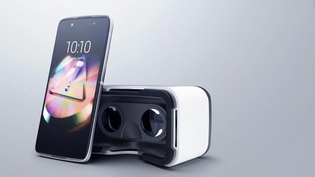 Doos nieuwe Alcatel-telefoons is ook VR-bril