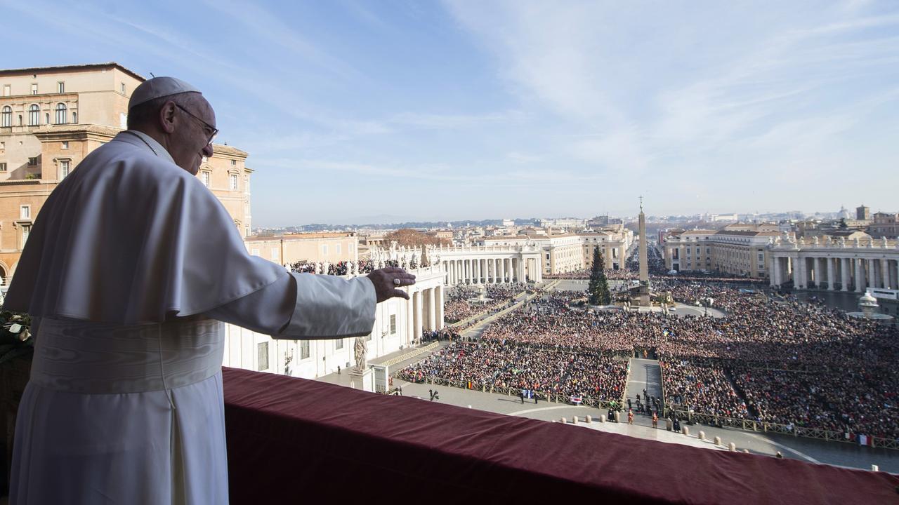 Paus roept op tot vrede in Midden-Oosten