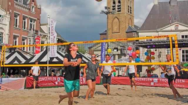 Beach Event Roosendaal brengt strand naar binnenstad