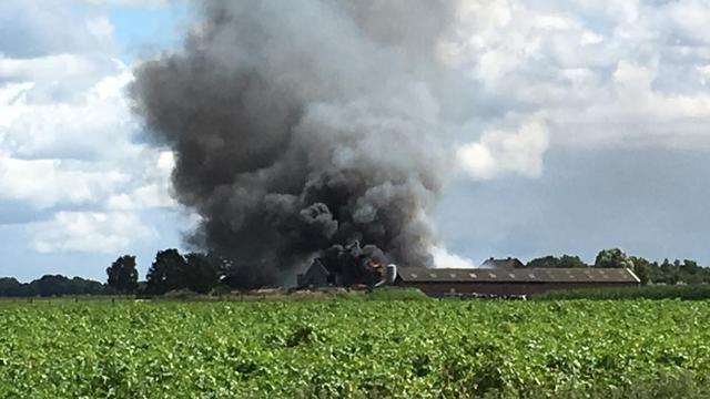 Drie kalfjes dood na stalbrand in Wouwse Plantage