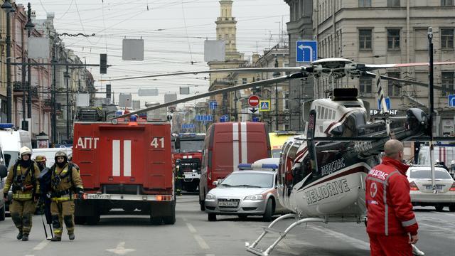 Politie Rusland vindt springstof in huis verdachte aanslag Sint-Petersburg
