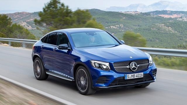 Mercedes GLC Coupé onthuld