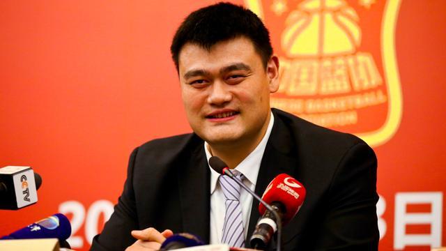 NBA-legende Yao Ming voorzitter Chinese basketbalbond