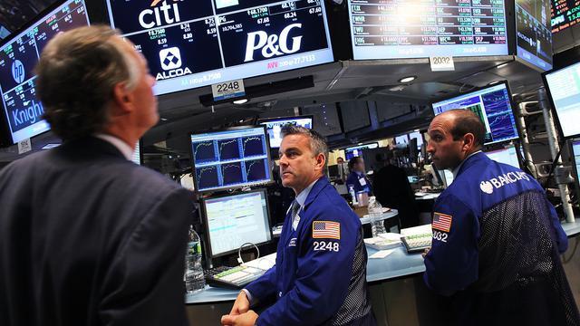 'Wall Street zet neergang door'