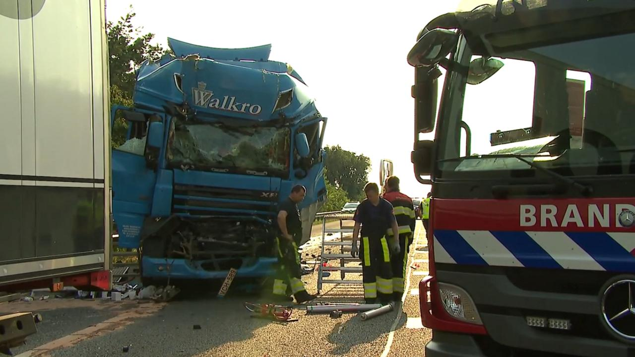 Dodelijk ongeluk op A67 tussen Eindhoven en Venlo