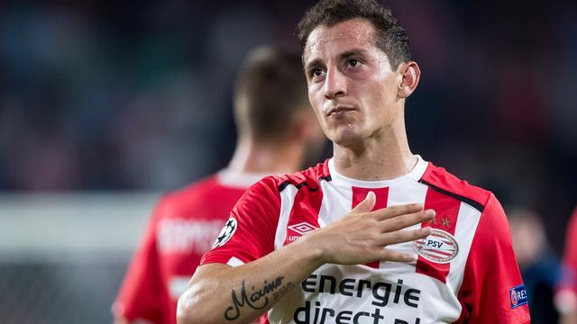PSV onderhandelt met Real Betis over transfer Guardado