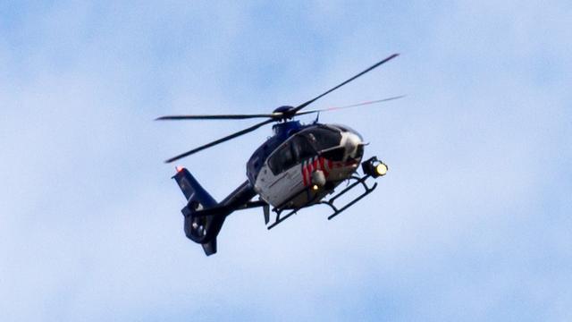 Politieheli hing meer dan uur boven stad na inbraak