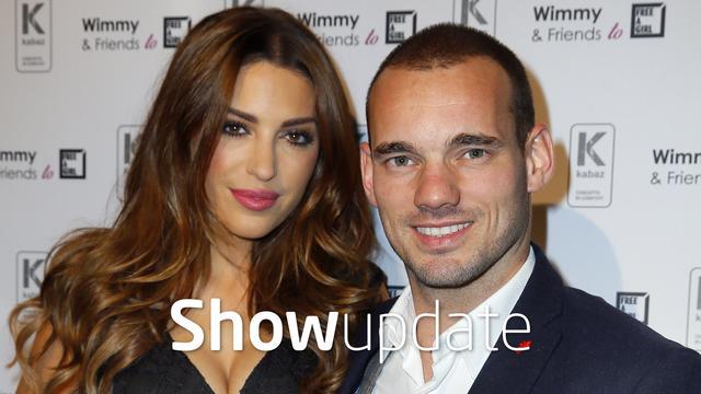 Show Update: Wesley Sneijder verklaart Yolanthe de liefde
