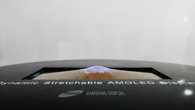 Samsung toont prototype van uitrekbaar scherm