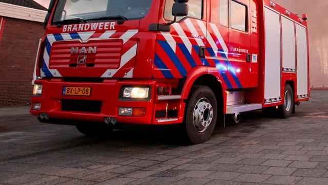 Brand verwoest twee huizen in Goese Marijkestraat
