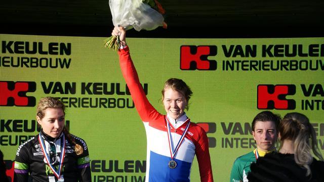 Thalita de Jong gaat wereldtitel niet uit de weg op WK Heusen-Zolder