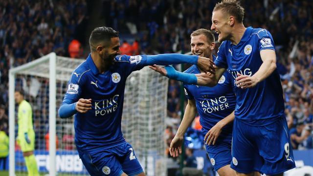 Leicester luistert titel op met zege, United houdt zicht op plek vier