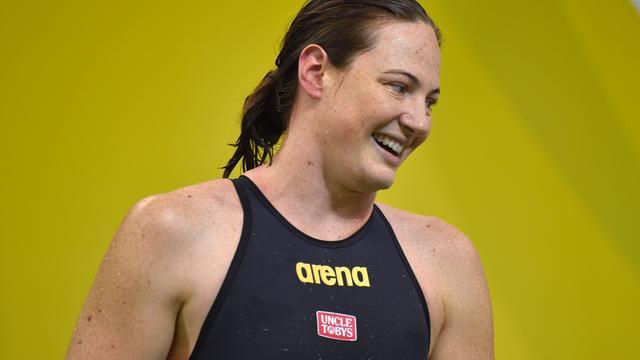 Australische Campbell zwemt wereldrecord op 100 meter vrije slag