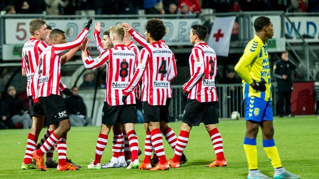 Sparta na zege op RKC steviger aan kop in Jupiler League