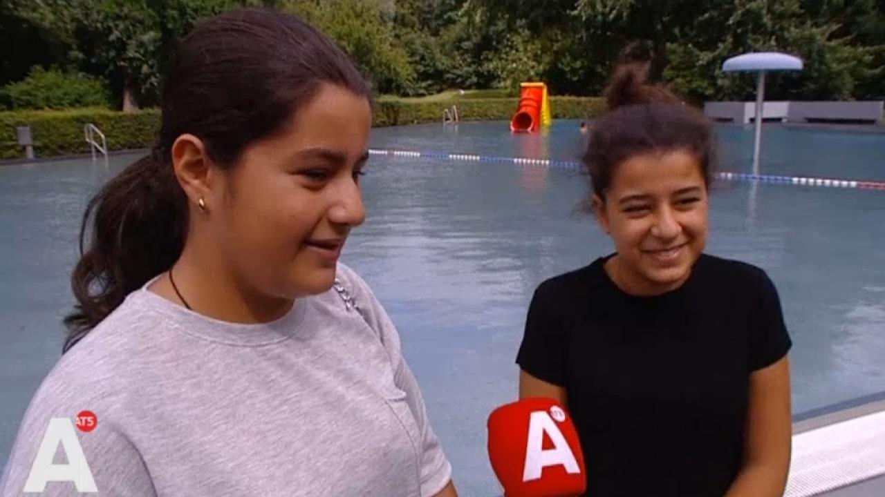 Zusjes redden kleuter van verdrinking