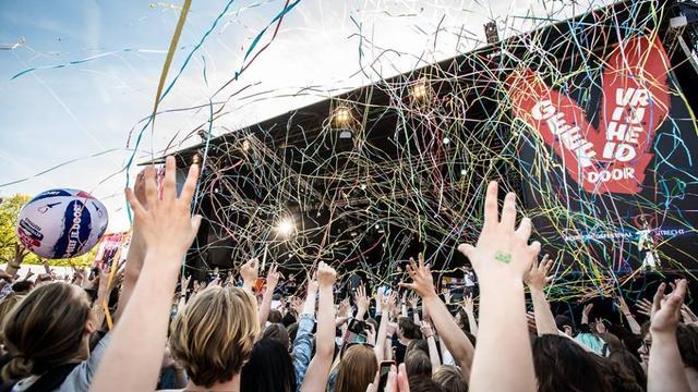 45.000 bezoekers op Bevrijdingsfestival park Transwijk