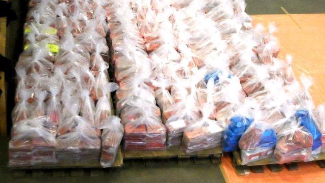 Douane onderschept 800 kilo cocaïne in Rotterdam