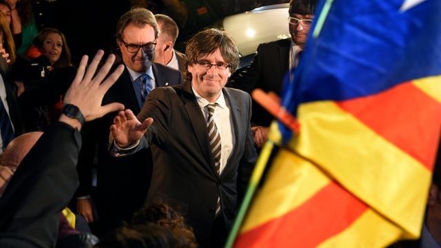 Puigdemont nieuwe leider Catalaans parlement