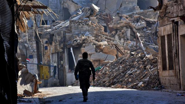 'Ruim 93 procent van Aleppo in handen Syrische regering'