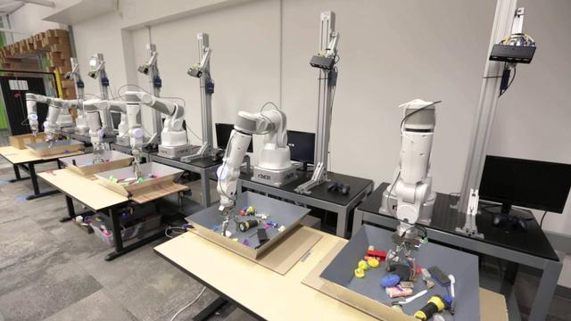 Google leert robots hand-oogcoördinatie