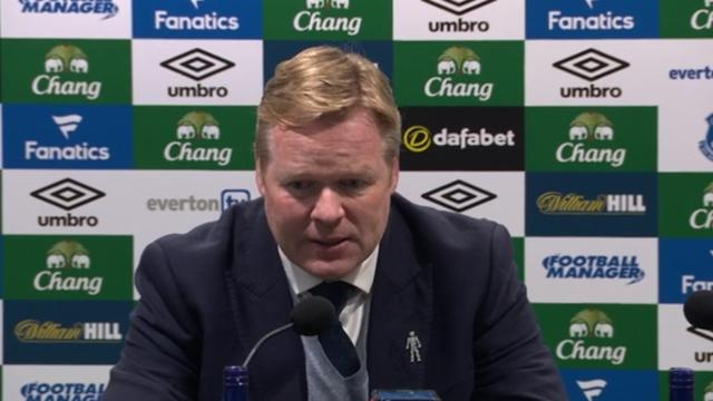 Koeman over Everton: 'De teamprestatie was perfect'