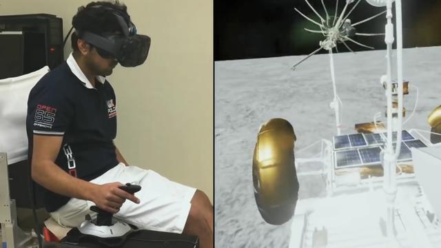 NASA traint astronauten met VR-brillen
