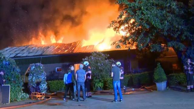 Poolse vrouwen ontsnappen aan brand kwekerij Nuenen