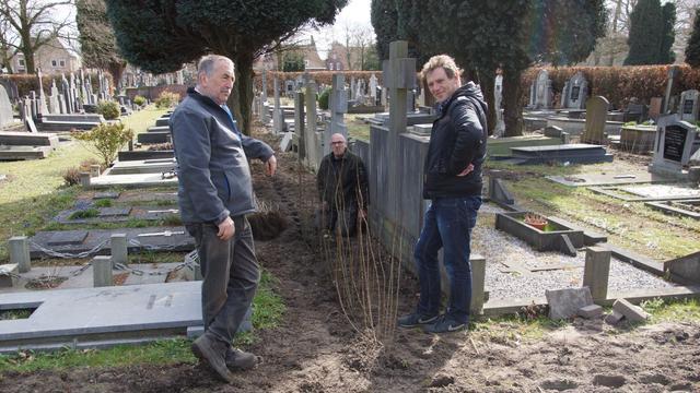 Begraafplaats aan Bredaseweg ondergaat opknapbeurt