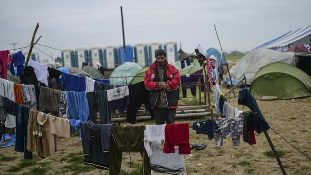 Griekenland begint evacuatie van migrantenkamp Idomeni