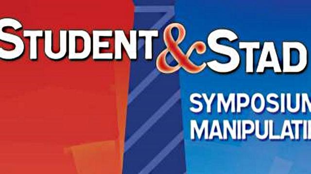 Symposium voor stad door student